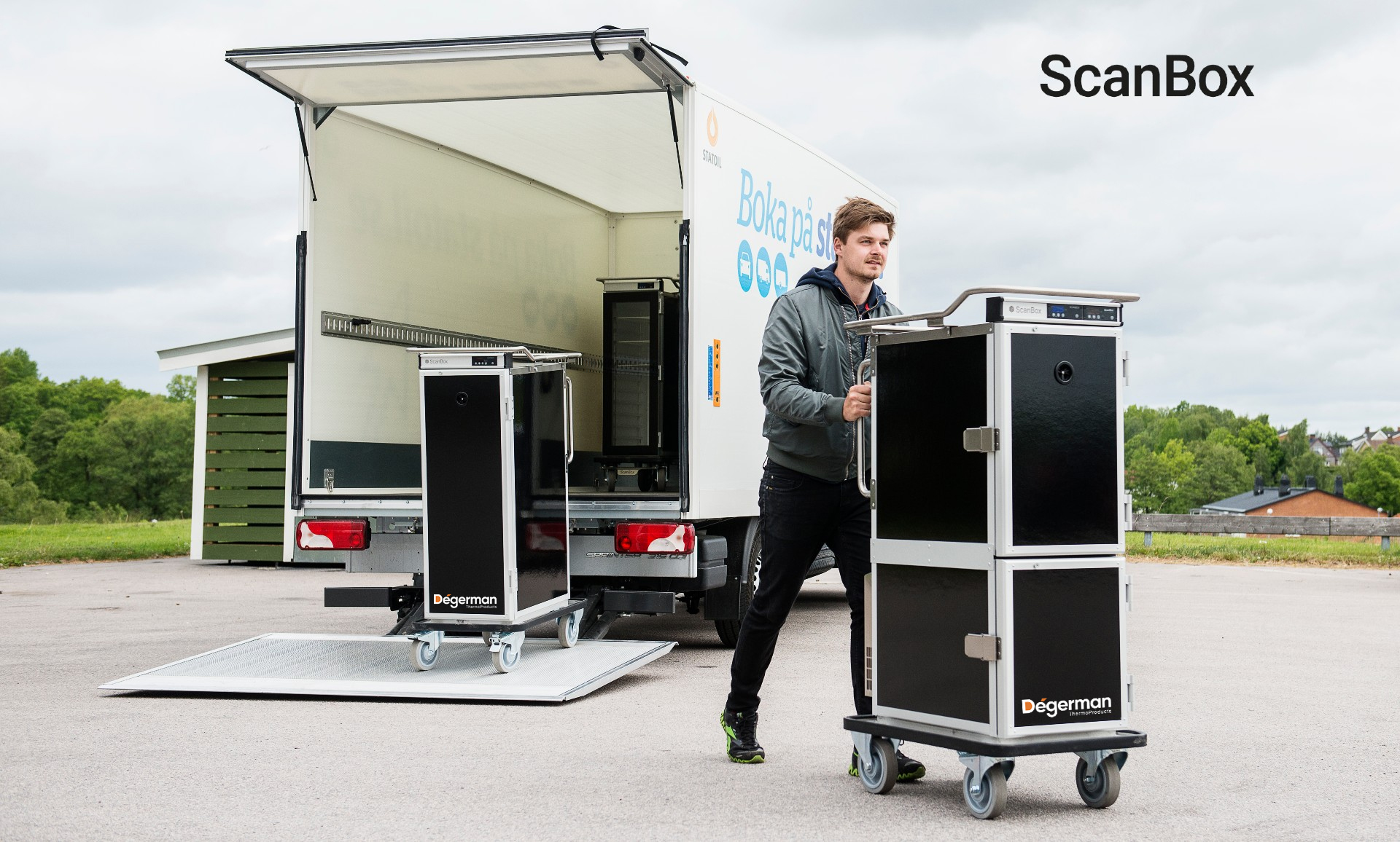 Scanbox y Kangabox, Contenedores Isotérmicos